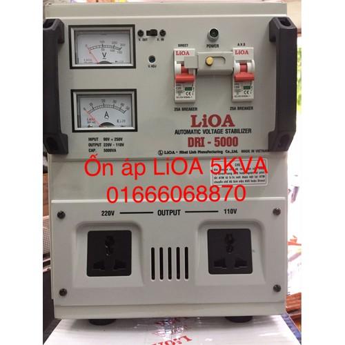 Ổn áp LiOA 5KVA dải 90V-250V thế hệ mới dây đồng nguyên chất - 4965007 , 8059751 , 15_8059751 , 2790000 , On-ap-LiOA-5KVA-dai-90V-250V-the-he-moi-day-dong-nguyen-chat-15_8059751 , sendo.vn , Ổn áp LiOA 5KVA dải 90V-250V thế hệ mới dây đồng nguyên chất