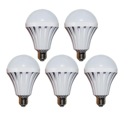 Bộ 5 bóng đèn Led Bulb tích điện thông minh SmartCharge 12W