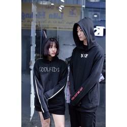 áo khoác nỉ phong cách street style