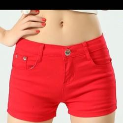 quần short jean thun