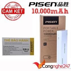 Pin sạc dự phòng Pisen- 10000mAh  Chính Hãng