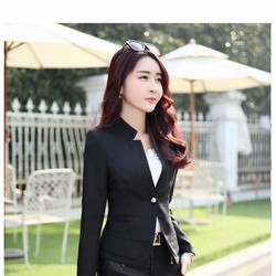 Áo khoác vest nữ có lót cao cấp AKVN105
