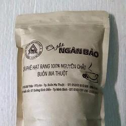 Cà phê hạt xay nguyên chất Ngân Bảo-500gr