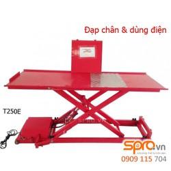 Bàn nâng điện và đạp chân T250E, sức nâng 150 kg