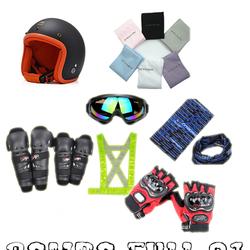 Combo nón bảo hiểm phượt Full 01