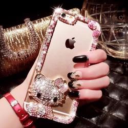 Ốp lưng silicon iPhone 5 đính đá