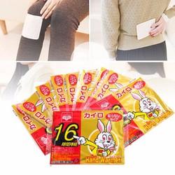 Miếng dán giữ nhiệt Nhật Bản combo 10 miếng