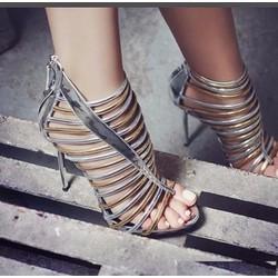 Giày cao gót xương cá dây nhuyễn