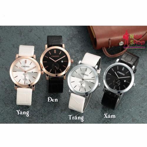 Đồng hồ dây da nữ Chenxi có lịch phong cách đơn giản - DHK070 - 4141097 , 4782655 , 15_4782655 , 200000 , Dong-ho-day-da-nu-Chenxi-co-lich-phong-cach-don-gian-DHK070-15_4782655 , sendo.vn , Đồng hồ dây da nữ Chenxi có lịch phong cách đơn giản - DHK070