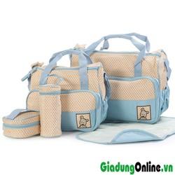 Bộ túi 5 chi tiết cho mẹ và bé