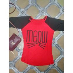 Áo thun họa tiết mèo