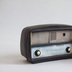 Mô hình đài Radio Vintage