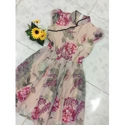 Đầm Xoè Cổ Tàu