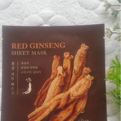 Mặt nạ giấy Mask 3D Mis.sha Red Ginseng sheet mask