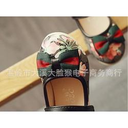 giày búp bê LV hoa