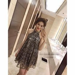 Đầm yếm kim sa