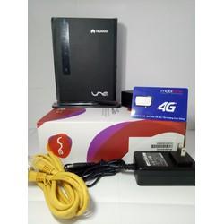 thiết bị phát wifi E5172s-515 TẶNG SIM 4G Mobi CÓ SẴN 62GB MỖI THANG