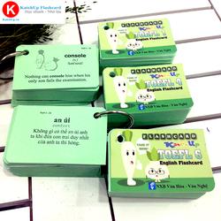 Bộ Flashcard ép nhựa TOEFL A kèm học và thi online | KatchUp