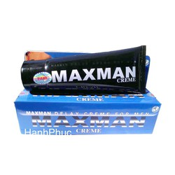 Gel Maxman tăng kich thước cậu nhỏ bằng thảo dược