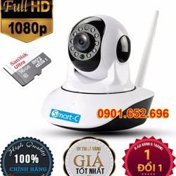 Camera IP Wifi Full HD không dây Smart-C