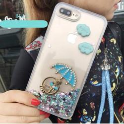 Ốp lưng đính đá cao cấp cho iphone 6,7 - OP012