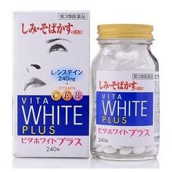 Viên Uống Trắng Da - Trị Nám và Tàn Nhang Vita White Plus 240 viên