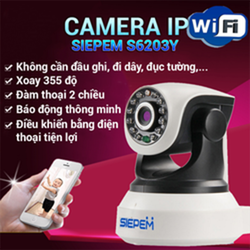 Camera ip wifi không dây thông minh