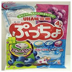 Kẹo hoa quả tổng hợp Puccho của UHA