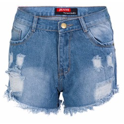 Quần Short Jean Rách Style