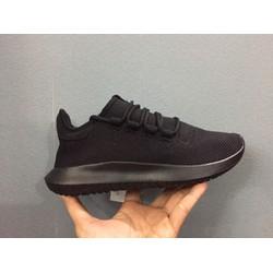 Giày thể thao nữ Tubular Shadow đen cá tính