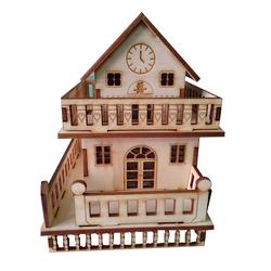 Gỗ mô hình nhà 2 tầng