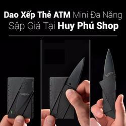 dao gấp hình thẻ ATM