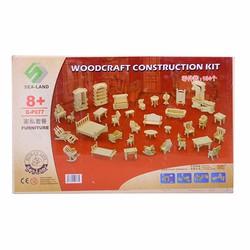 bộ đồ chơi ghép gỗ nội thất