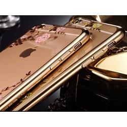Ốp Lưng iPhone 5 Dẻo Họa Tiết Hoa Đá