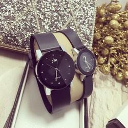 Đồng hồ đôi JW da cực mềm, cực êm - giá 1 đôi
