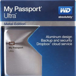 Ổ cứng di động Western Digital My Passport Ultra Metal Edition 1TB