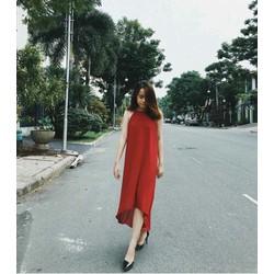 HÀNG LOẠI I CAO CẤP - ĐẦM MAXI VOAN CỔ YẾM