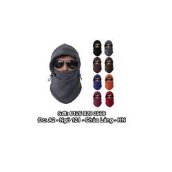Khăn Ninja siêu ấm cho dân phượt, dân thích đi Du lịch Mùa Đông