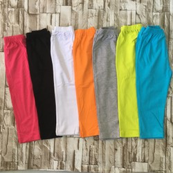 qg99 [28-40kg] quần legging dài màu trơn size đại