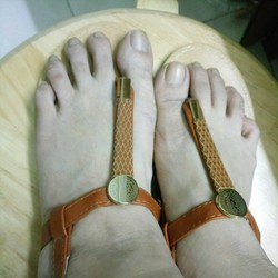dép sandal quai hậu
