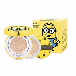 Phấn nước Minion Magic Cushion Cover Despicable SPF50 15g