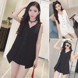 Bộ jumpsuit thời trang sành điệu - 8974 - Hàng Nhập