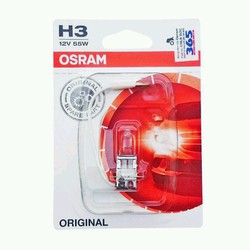 Bóng đèn Osram H3 Standard 12V Trắng