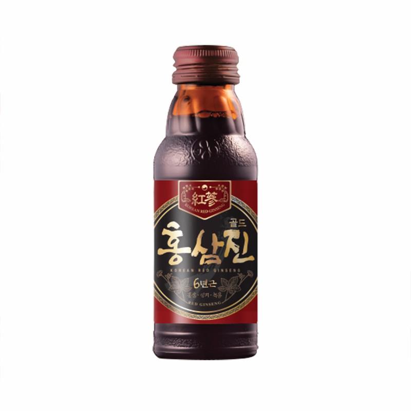 Hộp 10 chai nước hồng sâm Hàn Quốc chính hãng 2
