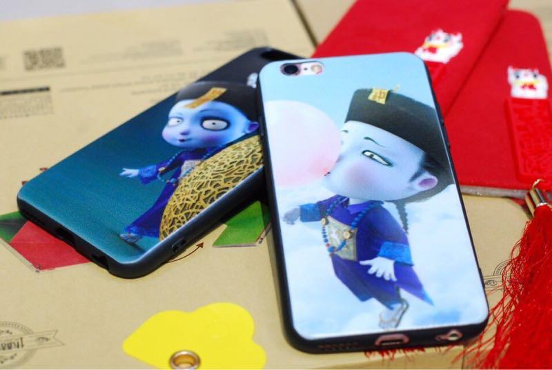 Ốp siêu cute tiểu cương thi cho iphone 8