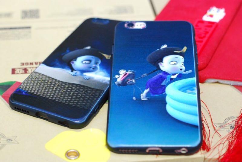 Ốp siêu cute tiểu cương thi cho iphone 7