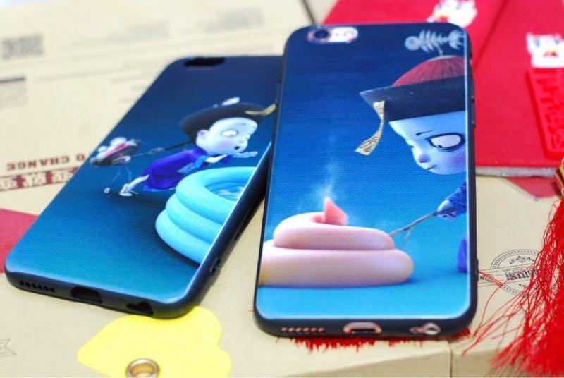 Ốp siêu cute tiểu cương thi cho iphone 9