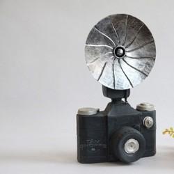 Mô hình máy chụp ảnh Vintage No.1