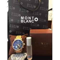 Đồng hồ nam dây da cao cấp Montblanc PI78948 G1189