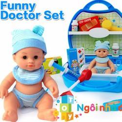 Mô hình phòng khám bác sĩ em bé